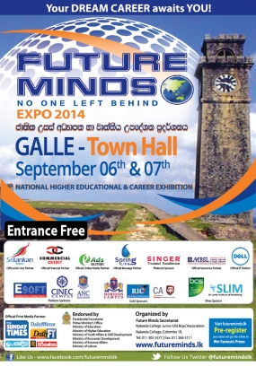 Future Minds Expo 2014 in Galle