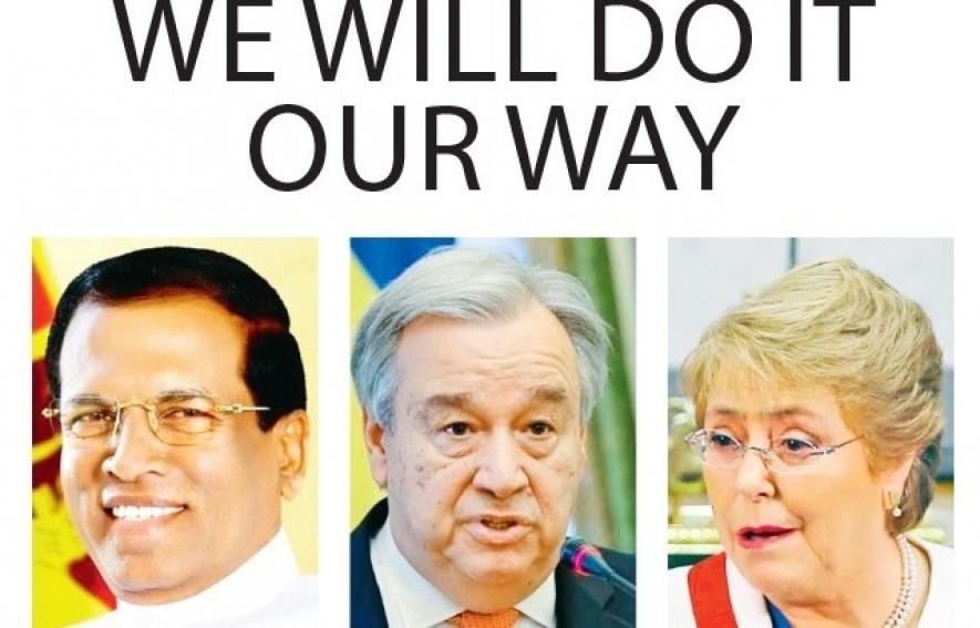 Sri Lanka to tell United Nations We will do it our way