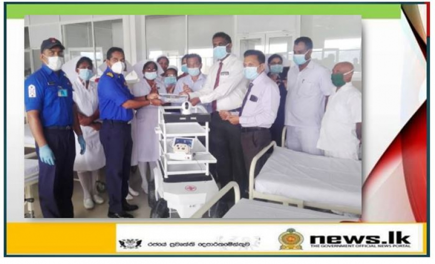 Navy-made another 'Medi Mate' handed over to Base Hospital – Theldeniya