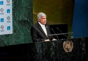 Prime Minister's Speech at UN Ocean Conference