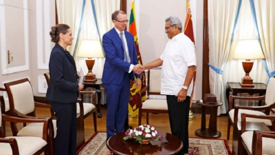 Canadian High Commissioner meets President