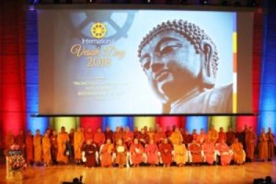 CELEBRATAION OFTHE INTERNATIONAL VESAK DAY AT UNESCO
