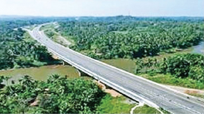 Progress of national road network  for investments and logistics'