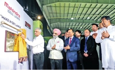 Premier inaugurates automobile assembly plant in Welipenna