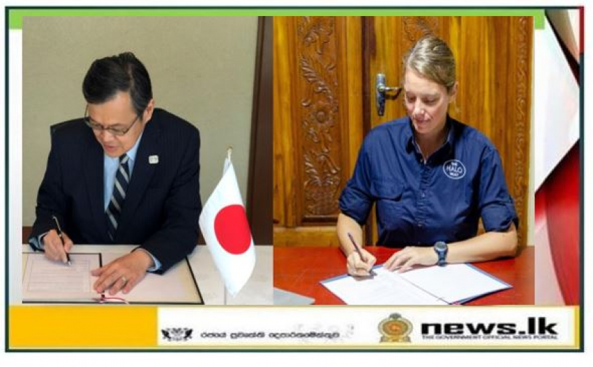Japan to Support Humanitarian Demining Activities in Northern Sri Lanka