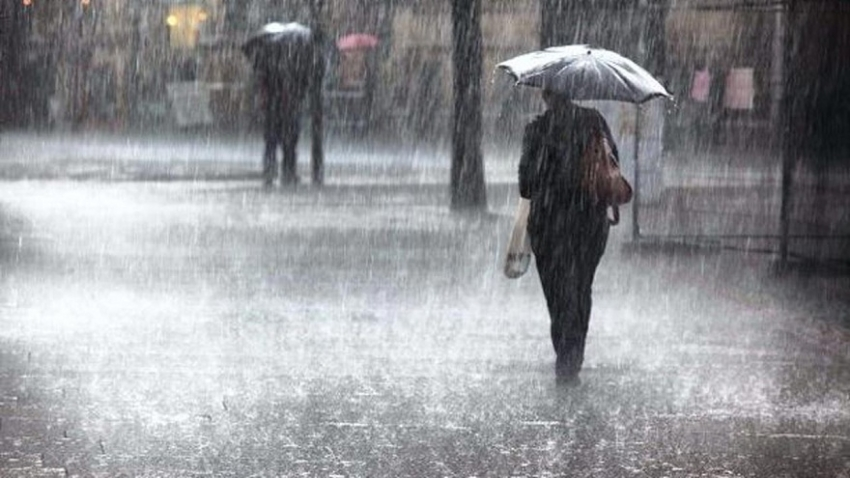 Heavy rain at five provinces