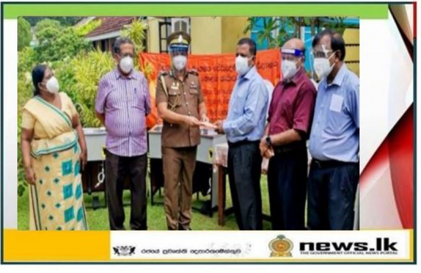 Health equipment donated to Prison Hospital