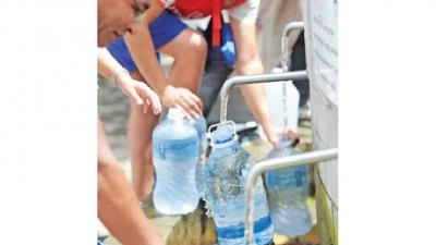 Nearly 49 percent of Colombo's water wasted