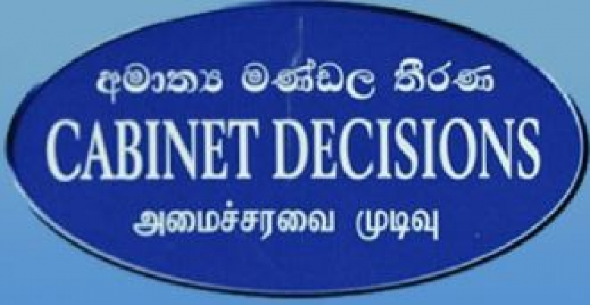 Decisions taken at the meeting of the Cabinet of Ministers held on 12.02.2020