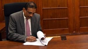 New Secretary to Treasury