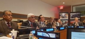 Sri Lanka shares experience with UN Peace-building Commission