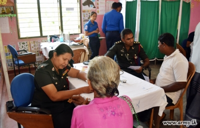Army medical camp benefit rural masses