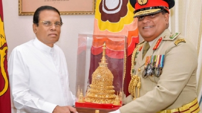 New Army  Commander  meets the President