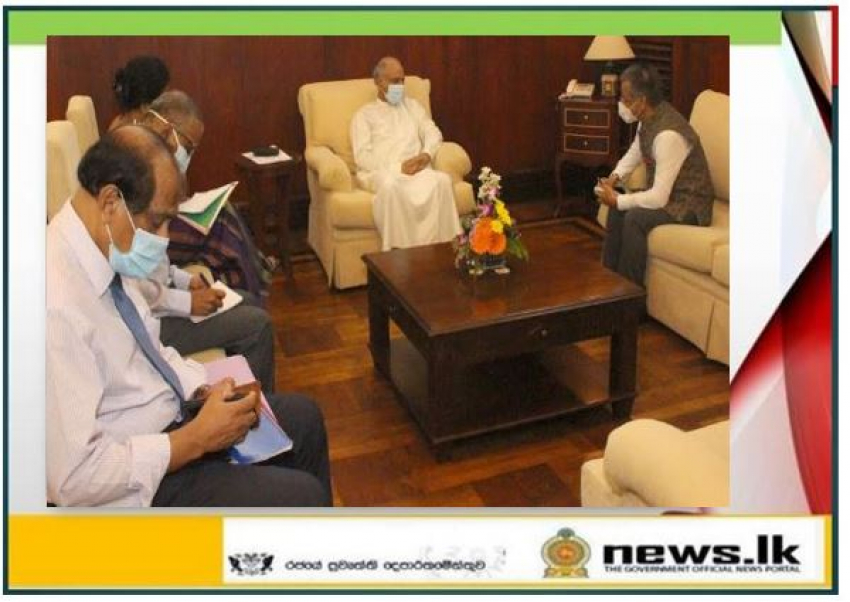 New Indian High Commissioner calls on Foreign Relations Minister Dinesh Gunawardena