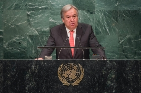 UN ready to support SL to build as an exemplary nation -UNSG