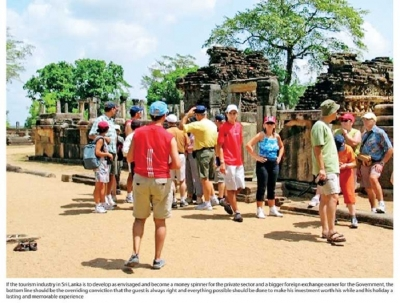 Tourism income to reach US$ 4 bn mark