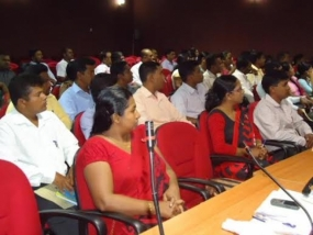 Workshop for Divi Neguma Development Officers in Trinco
