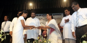 1021 students from Gampaha district receive Mahapola scholarships