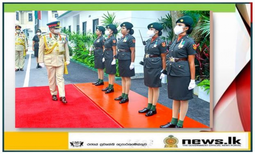 Sri Lanka Army Women's Corps HQ Complex Enters into its New 5-Storied Building