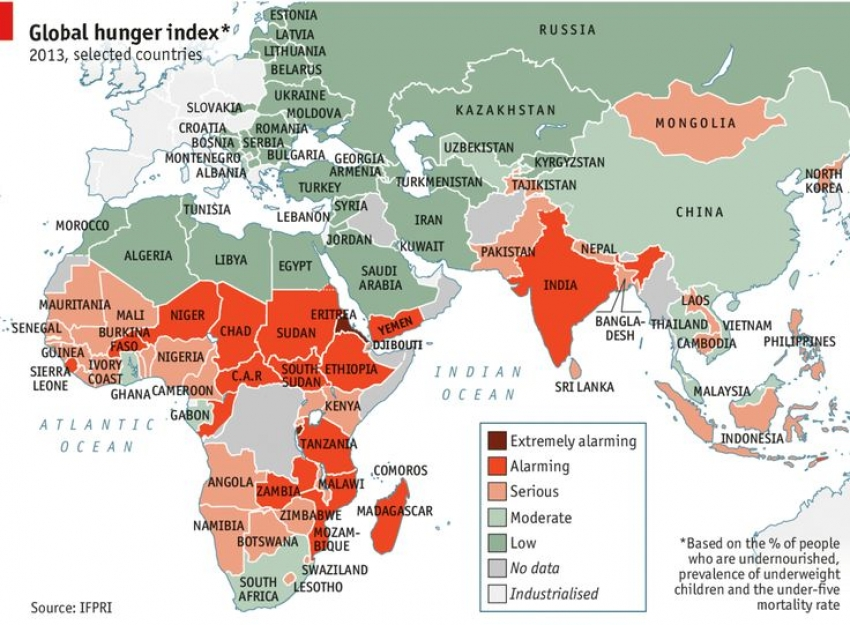 Global Hunger Index 2019: SL surpasses South Asian countries  -