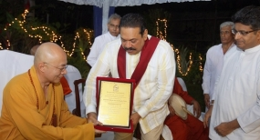 Foreign Buddhist Delegation praise unity among all communities