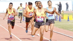 Lankan athletes overcome fever and detractors in record medals show