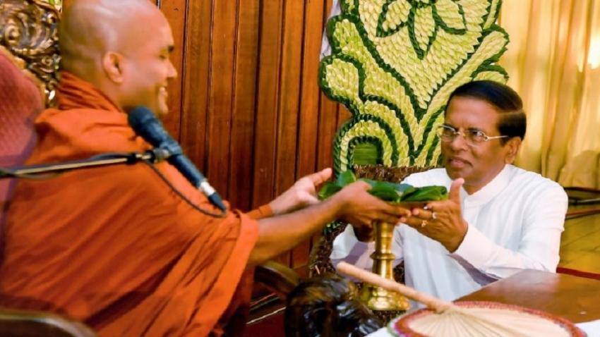 """55th """"Sadaham Yathra"""" held centering Kaleniya Raja Maha Vihara"""