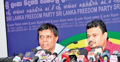 Speaker, a cat's paw for UNP, Ranil - SLFP