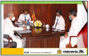 Ambassador of Sri Lanka to Russia Prof. M.D. Lamawansa meets Foreign Minister Dinesh Gunawardena