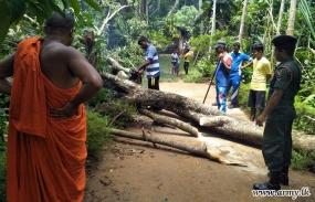 Troops Clear Roads & Provide Relief to Polgahawela People