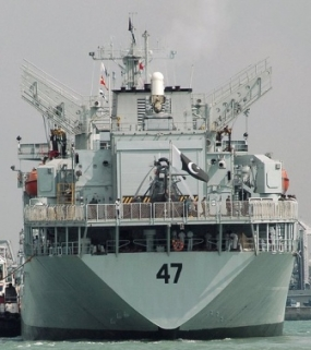 Two Pakistan Naval Ships on a goodwill visit in Sri Lanka