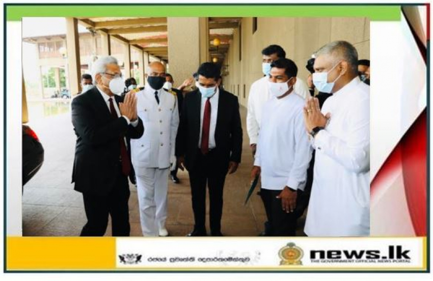 H.E. President Visits Parliament