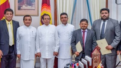 New State and Deputy Ministers sworn in before President