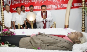 Last respects paid  to Bala Tampoe