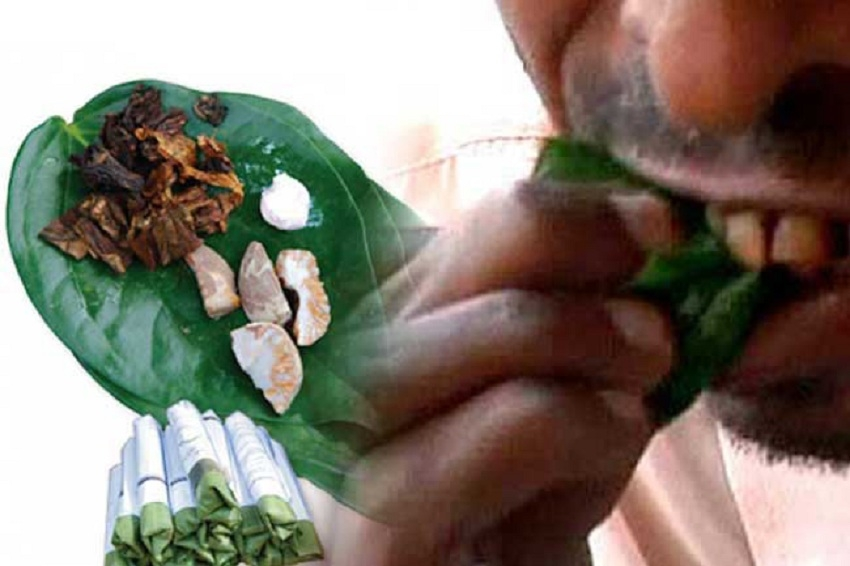 Chewing betel within state institutions banned