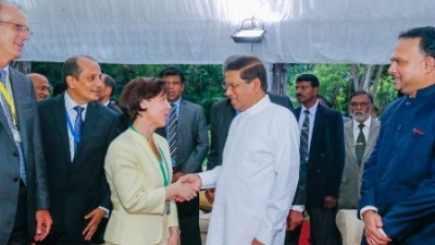 Representatives of Colombo International Tea Convention meet President