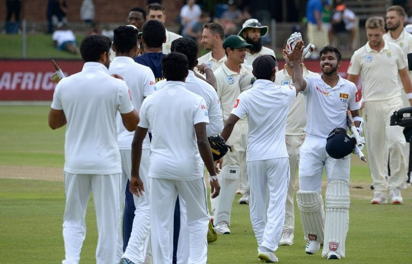 Sri Lanka creates history- becomes first Asian team to win a series in South Africa