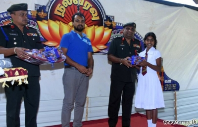 Northern troops join 'Pongal' celebrations