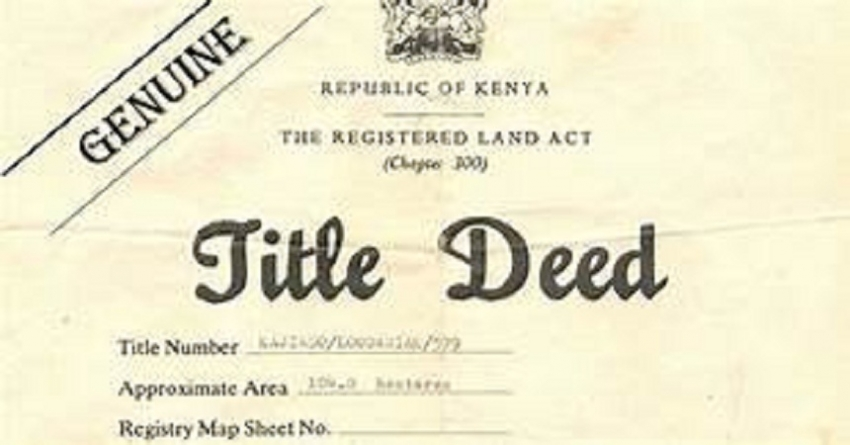 One million land deeds granted in three years