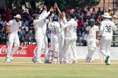 Sri Lanka defeat Zimbabwe by 10 wickets in first Test