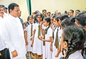 President emphasizes the justice to every child in receiving education