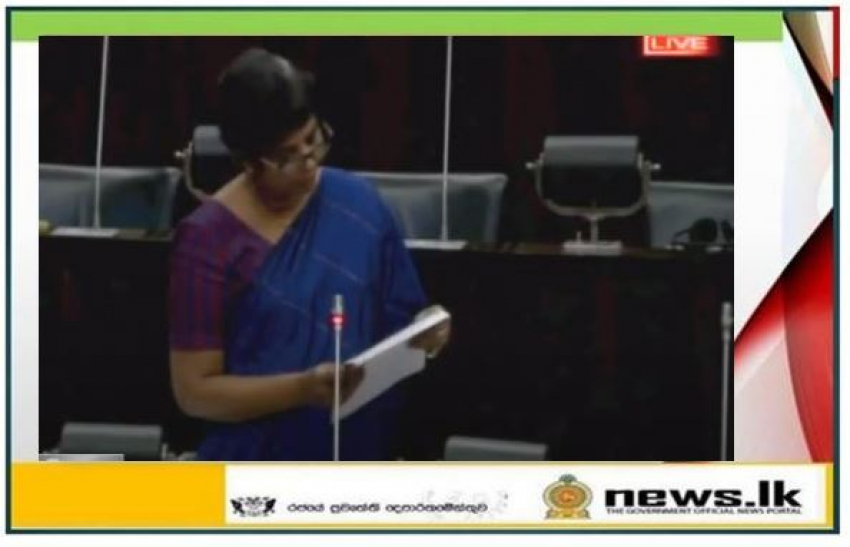 The second jab of the Covid-19 vaccine will be given from 1 May – State Minister Sudarshini Fernandopulle