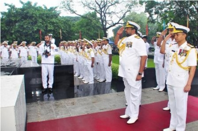 Navy commemorates Naval War Heroes at Welisara