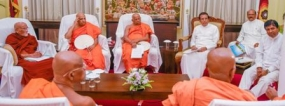 Maha Sangha will be kept informed even about a draft of a constitution – President