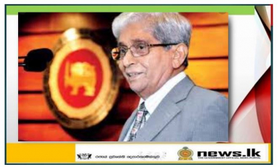 Statement by Deshamanya Professor W.D. Lakshman Governor of the Central Bank of Sri Lanka