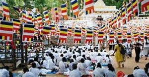 Poson symbolises initial footprint of Buddhism in Lanka'