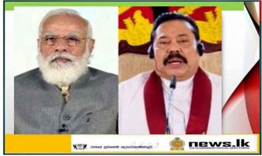 Virtual Bilateral Summit between Prime Minister of Sri Lanka H.E. Mahinda Rajapaksa and Prime Minister of India H.E. Shri Narendra Modi
