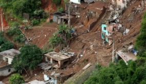 Landslide warning for two districts