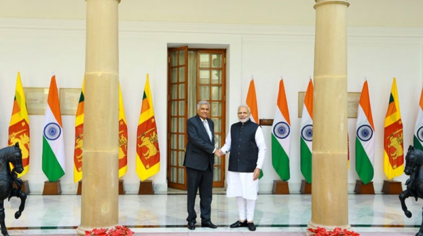 Sri Lanka, India Prime Ministers to deepen bilateral relations
