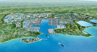 Plan for artificial island at Hambantota port in two months
